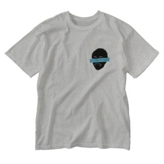 DOBOCHOON!_BF(ブルー) Washed T-shirts