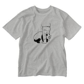 ずぼ Washed T-Shirt
