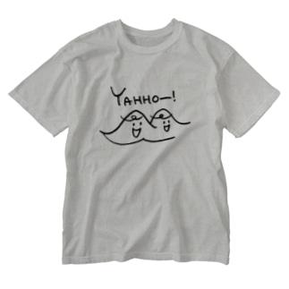 やまびこきょうだい Washed T-shirts