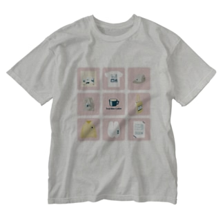 TealBlueItems _Cube PINK Ver. Washed T-shirts