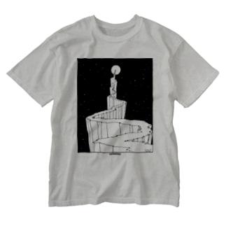 「イメージの本」 A book of images Washed T-shirts