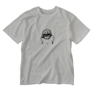 すけべ地雷 Washed T-shirts