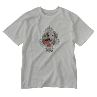 まなざし|イタグレ Washed T-Shirt