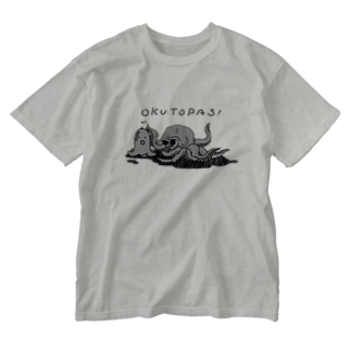 unknown+storeのOKUTOPAS! Washed T-shirts