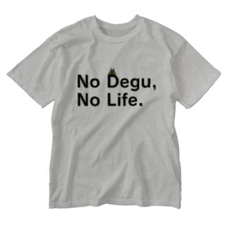 No Degu,No Life.(テグタン) Washed T-shirts