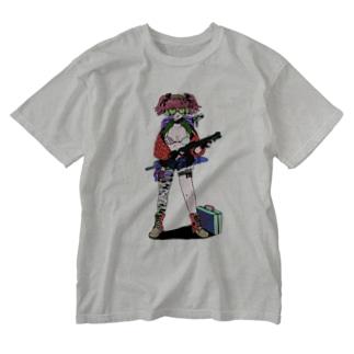 クールガール! Washed T-shirts