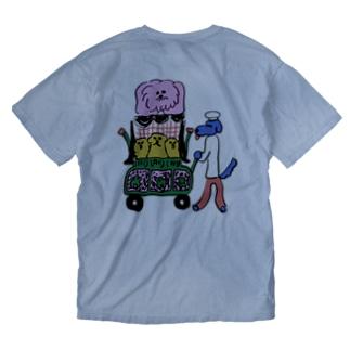 ワンワンワゴン Washed T-shirts