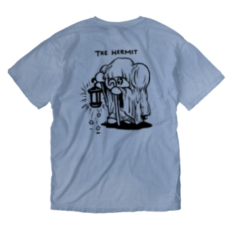 THE HERMIT(隠者) Washed T-shirts