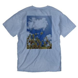 春の花 Washed T-shirts