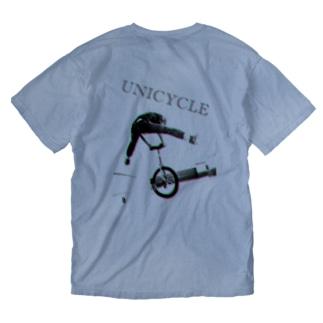 一輪車 Washed T-shirts