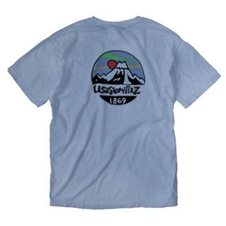 ウサゴリラリャンメン Washed T-shirts