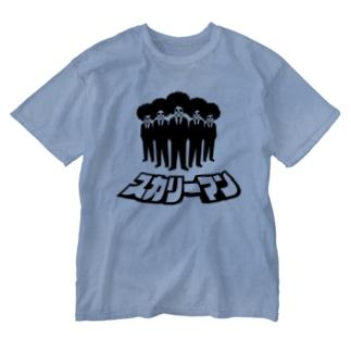 スカリーマン Washed T-shirts