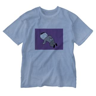 腰痛 Washed T-shirts