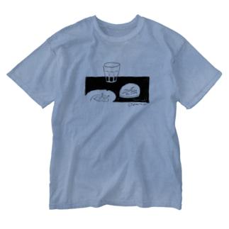 卓上 Washed T-shirts