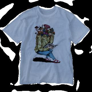 STUDIO KIKUCHIのキノコ料理 Washed T-shirts