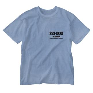 オリジナル茅ヶ崎 Washed T-shirts