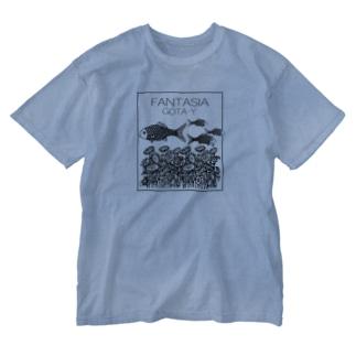 FANTASIA~ひまわり~  Washed T-shirts