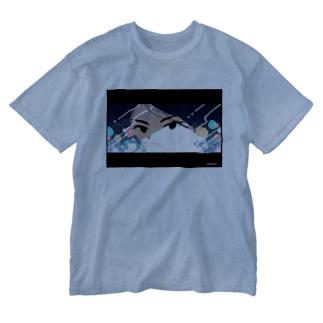 口ほど語る Washed T-shirts
