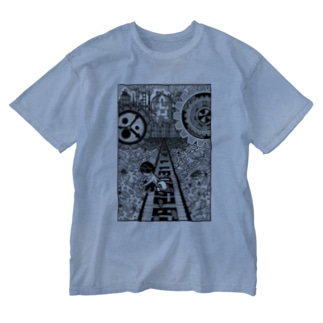 能動的感謝 Washed T-shirts