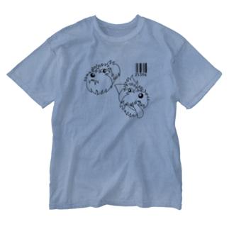 25396黒 Washed T-shirts