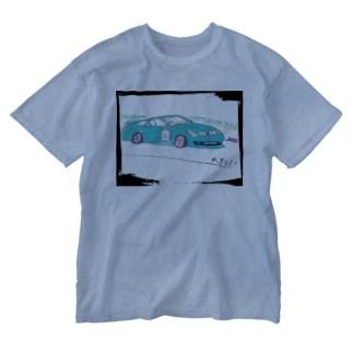 Ryotaのオリジナルレーシングカー36 Washed T-shirts