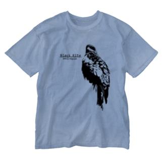 トビ Washed T-shirts