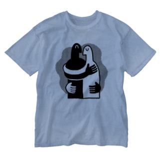 2人 Washed T-shirts
