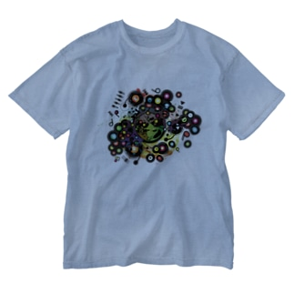 Earth_Music Washed T-shirts