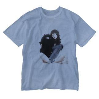 リTシャツ(山田リティ) Washed T-shirts