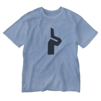カワラギ Washed T-shirts