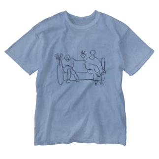 微妙な距離感 Washed T-shirts
