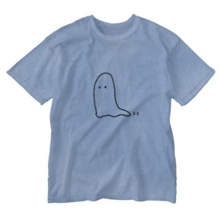 おばけだぞ〜 Washed T-shirts