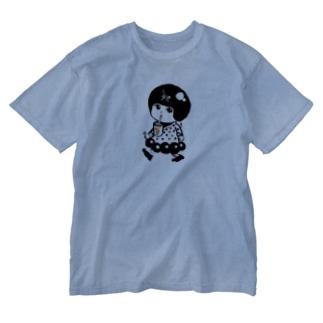 タピ丘ちゃん Washed T-shirts