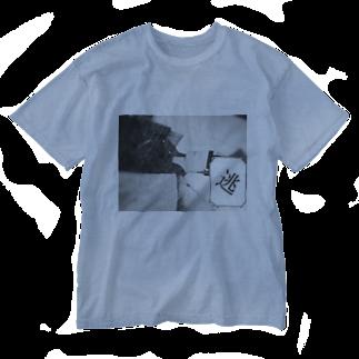 黒ごませさみん。のさようなら。 Washed T-shirts