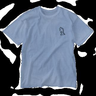 つっこみ処のミニかいじゅうちゃん Washed T-shirts