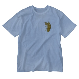 セミの抜け殻クン Washed T-shirts