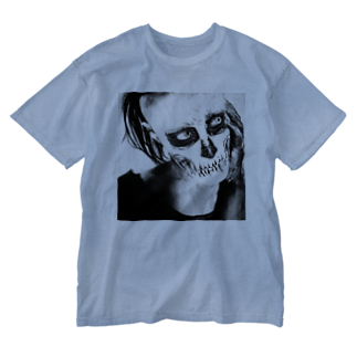 """Spook Label """"Goods"""" の骸骨JACK Washed T-shirts"""