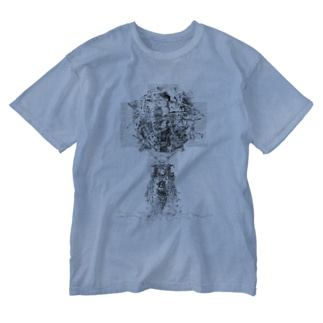 ONKALO描き下ろし/SFメカニック - Si-Fi Mechanic design by ONKALO Washed T-shirts