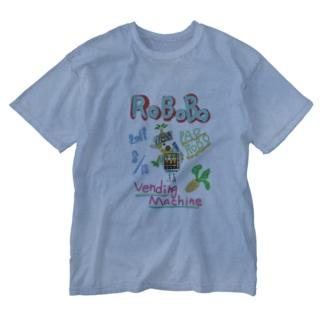 ROBOBO🤖「パオロボ」 Washed T-shirts