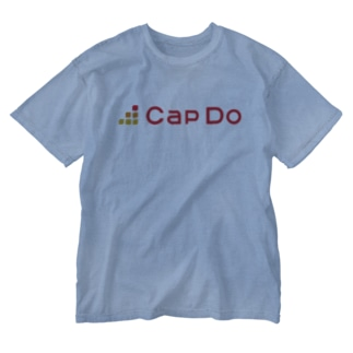 CapDoオリジナルグッズ Washed T-shirts