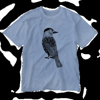 まつのき商店のホシガラス Washed T-shirts