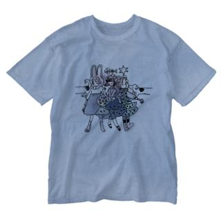 ミルドガールズ Washed T-shirts
