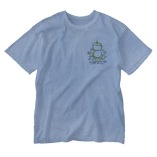 マーガレットトイレ(大)【はつか】 Washed T-shirts