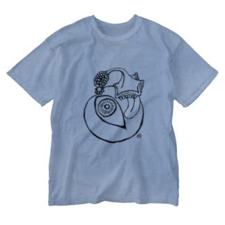 アバンギャルド Washed T-shirts
