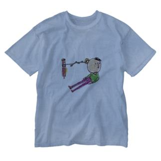 ゴロ企画のもう少しぼくに勇気があれば Washed T-shirts