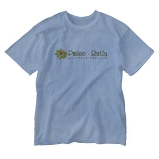Pmine・Ratlu Washed T-shirts