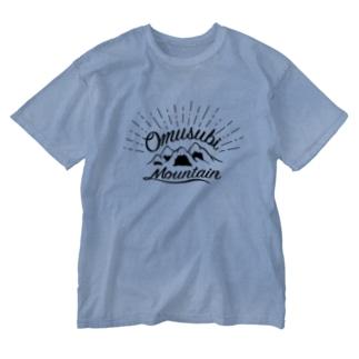 おむすびマウンテン Washed T-shirts