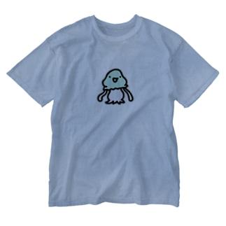 謎の宇宙人コペトン Washed T-shirts