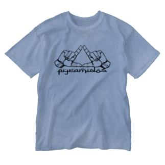 ピラミッドスグッズ Washed T-shirts