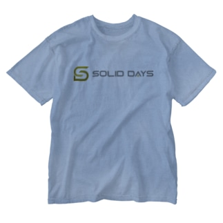 SOLID DAYS 2020 Washed T-shirts
